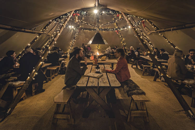 The Oast House Christmas Curious TeePees