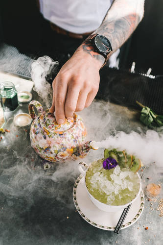 Experiment with pipettes, dry ice and atomisers... The Botanist's new phytology inspired cocktail menu