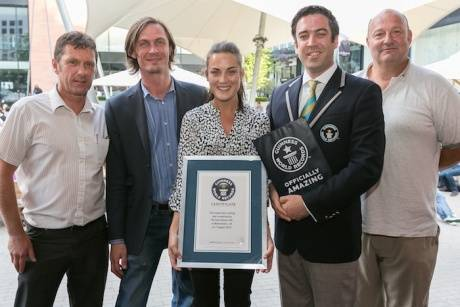 Oast Breaks Guinness World Record