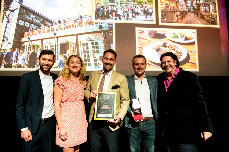 The Canal House Scoops Regional Win at National Pub & Bar Awards 2019